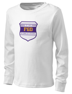 Phi Gamma Delta  Kid's Long Sleeve T-Shirt
