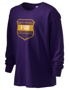 Phi Gamma Delta Kid's 6.1 oz Long Sleeve Ultra Cotton T-Shirt