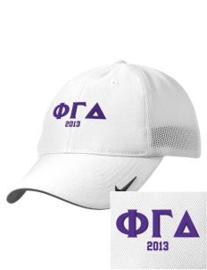 Phi Gamma Delta Embroidered Nike Golf Mesh Back Cap
