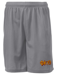 "Phi Kappa Theta Men's Mesh Shorts, 7-1/2"" Inseam"
