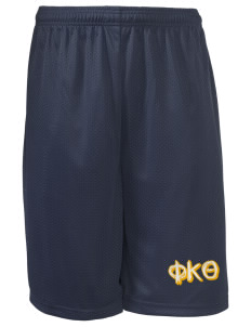 "Phi Kappa Theta Long Mesh Shorts, 9"" Inseam"