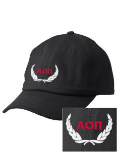 Alpha Omicron Pi Embroidered Champion 6-Panel Cap