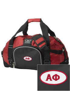 Alpha Phi  Embroidered OGIO Big Dome Duffel Bag