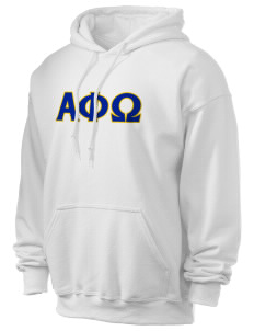 Alpha Phi Omega Ultra Blend 50/50 Hooded Sweatshirt