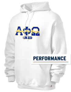 Alpha Phi Omega Russell Men's Dri-Power Hooded Sweatshirt