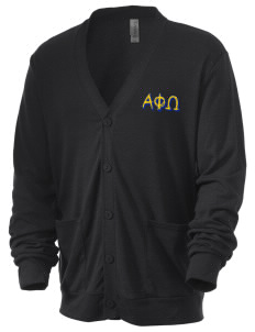 Alpha Phi Omega Men's 5.6 oz Triblend Cardigan