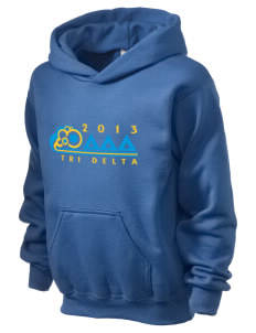 Delta Delta Delta Holloway Kid's 50/50 Hooded Sweatshirt