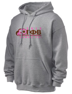 Gamma Phi Beta Ultra Blend 50/50 Hooded Sweatshirt