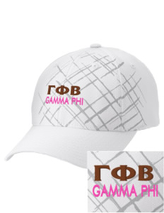 Gamma Phi Beta Embroidered Mixed Media Cap