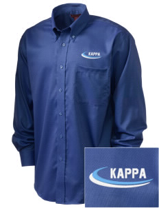 Kappa Kappa Gamma  Embroidered Men's Nailhead Non-Iron Button-Down