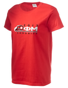 Phi Mu Women's 6.1 oz Ultra Cotton T-Shirt
