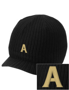 Acacia Embroidered Knit Beanie with Visor