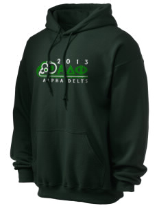 Alpha Delta Phi Ultra Blend 50/50 Hooded Sweatshirt