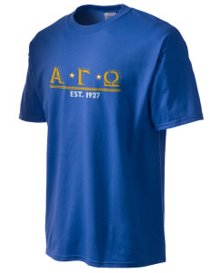 Alpha Gamma Omega Tall Men's Essential T-Shirt