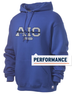 Alpha Iota Omicron Russell Men's Dri-Power Hooded Sweatshirt