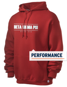 Beta Sigma Psi Russell Men's Dri-Power Hooded Sweatshirt
