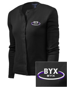 Beta Upsilon Chi Embroidered Women's Cardigan Sweater