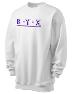 Beta Upsilon Chi Men's 7.8 oz Lightweight Crewneck Sweatshirt
