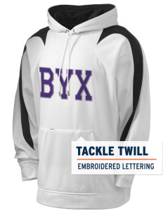 Beta Upsilon Chi Holloway Men's Sports Fleece Hooded Sweatshirt with Tackle Twill