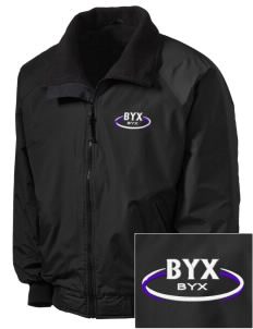 Beta Upsilon Chi Embroidered Men's Fleece-Lined Jacket