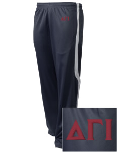 Delta Gamma Iota Embroidered Holloway Men's Tricotex Warm Up Pants