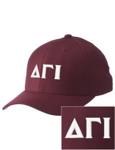 Delta Gamma Iota Embroidered Pro Model Fitted Cap