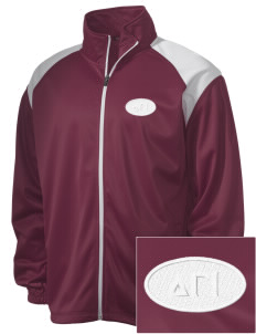 Delta Gamma Iota Embroidered Men's Tricot Track Jacket