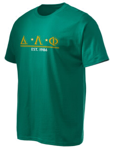 Delta Lambda Phi Hanes Men's 6 oz Tagless T-shirt