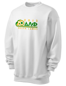 Delta Lambda Phi Men's 7.8 oz Lightweight Crewneck Sweatshirt