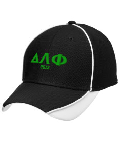 Delta Lambda Phi Embroidered New Era Contrast Piped Performance Cap