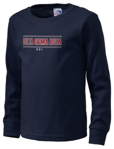 Delta Sigma Iota  Kid's Long Sleeve T-Shirt