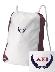 Delta Sigma Iota Embroidered Holloway Home and Away Cinch Bag