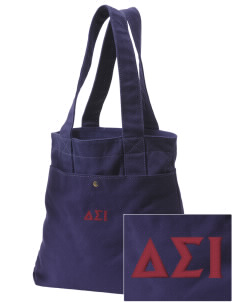 Delta Sigma Iota Embroidered Alternative The Berkeley Tote