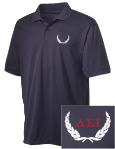 Delta Sigma Iota Embroidered Men's Micro Pique Polo