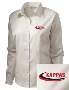 Kappa Alpha Psi  Embroidered Women's Long Sleeve Non-Iron Twill Shirt