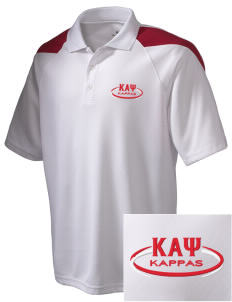 Kappa Alpha Psi Embroidered Holloway Men's Frequency Performance Pique Polo