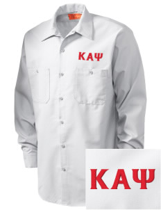 Kappa Alpha Psi Embroidered Men's Industrial Work Shirt - Regular