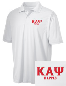 Kappa Alpha Psi Embroidered Men's Micro Pique Polo