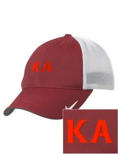 Kappa Alpha Society Embroidered Nike Golf Mesh Back Cap