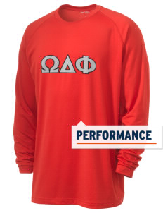 Omega Delta Phi Men's Ultimate Performance Long Sleeve T-Shirt