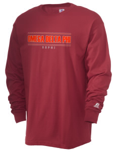 Omega Delta Phi  Russell Men's Long Sleeve T-Shirt