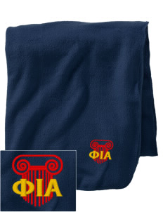 Phi Iota Alpha Embroidered Holloway Stadium Fleece Blanket