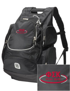 Phi Sigma Kappa  Embroidered OGIO Bounty Hunter Backpack