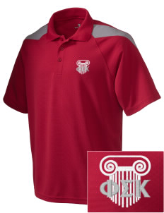 Phi Sigma Kappa Embroidered Holloway Men's Frequency Performance Pique Polo