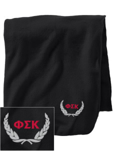 Phi Sigma Kappa Embroidered Holloway Stadium Fleece Blanket