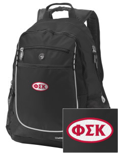 Phi Sigma Kappa Embroidered OGIO Carbon Backpack