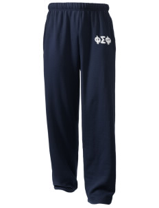 Phi Sigma Phi  Holloway Arena Open Bottom Sweatpants
