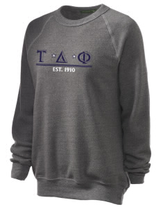 Tau Delta Phi Unisex Alternative Eco-Fleece Raglan Sweatshirt