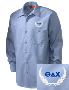 Theta Delta Chi Embroidered Men's Industrial Work Shirt - Regular