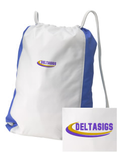 Delta Sigma Pi Embroidered Holloway Home and Away Cinch Bag